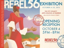 Postcard Rebel2014 Front